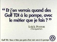 Golf TDI - Texte Loïc Peyron