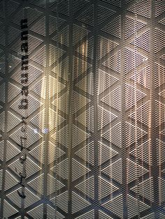raumteiler in 3d-struktur von création baumann   imm cologne 2015
