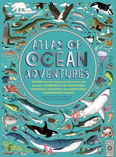 Atlas of Ocean Adventures: A Collection of Natural Wonders, Marine Marvels and Undersea Antics from Across the Globe: Amazon.co.uk: Emily Hawkins, Lucy Letherland: 9780711245303: Books