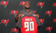 """Underrated DT Chris Baker just the right size and fit for Buccaneers = TAMPA — At 6-foot and 160 pounds, 11-year-old Chris Baker wasn't just big for his age, he was literally too big for football. He was at least in Windsor, Connecticut, where the weight limit at the time for would-be football players Baker's age was 130 pounds. Now nearly 20 years later, the kid who briefly abandoned football for basketball and became known on the court as """"Baby Shaq'' has….."""
