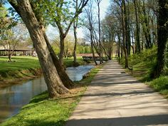 Our walking trail in Maryville.