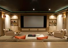 Contemporary media room bethesda maryland home room design design ideas  decorating house designMaple Home Theater Media Center by SpeckCustomWoodwork on Etsy  . Designing A Home Theater. Home Design Ideas