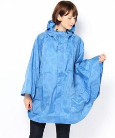 【Lafuma】デザインポンチョ Rain Jacket, Windbreaker, Raincoat, Projects, Jackets, Fashion, Log Projects, Down Jackets, Moda