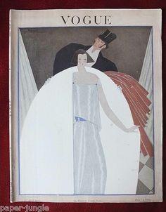 Vogue Magazine French Ed. Apr 1 1922 // Georges Lepape