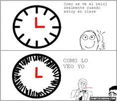 ★★★★★ Memes en español imágenes: Cruda realidad con el reloj I➨ http://www.diverint.com/memes-espanol-imagenes-cruda-realidad-reloj/ →  #memesderisaparacomentar #memesderisaparafacebook #memesgraciososparacomentarenfacebook #memesvideosderisa #mundomemesenespañol