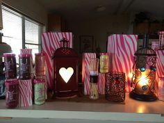 Beautiful room full of Pink Zebra !