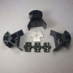 168.92$  Buy now - http://aliyh1.worldwells.pw/go.php?t=32458397307 - Reprap Delta Kossel 3 D printer  all metal Vertical carriage+ Bottom vertex+Top vertex+End effector kit/set aluminum alloy