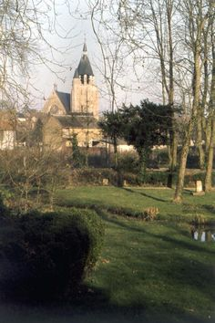 Illiers-Combray (Eure-et-Loir). Saint-Jacques's ch Credit: Roger Viollet / Contributor Caption:FRANCE - CIRCA 1960: Illiers-Combray (Eure-et-Loir). Saint-Jacques's church of Marcel Proust's holiday village, seen from the Pre Catelan, the garden recalled by the writer and drawn by his uncle Jules Amiot. (Photo by Roger Viollet/Getty Images)