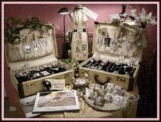 Nice Christmas display - diana frey display