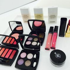 Chanel pink-themed makeup collection
