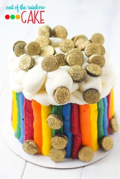 End of the Rainbow Cake @FoodBlogs