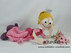 Princess Rosaline – Amigurumi Crochet Pattern