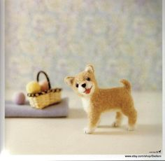 Needle Felting Dogs Toys Japanese eBook Pattern FAB14 by Bielleni, €2.00