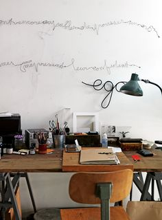 found by hedviggen ⚓️ on pinterest | workspaces | interior styling | desk | stationary |  art supply | home office | items | office | work | atelier | decor