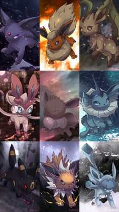 Eeveelution Party - Happy New Year 2016! by AutobotTesla