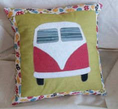 VW Bus Pillow