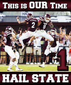 This Is OUR Time. #HailState
