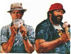 Assisi rende omaggio a Bud Spencer e Terence Hill Bud Spencer, Terence Hill, Mario, Kid Character, Big Men, Character Illustration, Bude, Movie Stars, My Hero