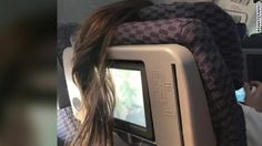 "The Day I Went Viral! ❤ His pic of ""Airplane Ponytail"" incident went viral for Boston Globe columnist Dante Ramos. #PassengersShaming"