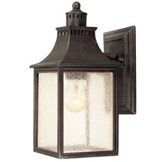 I pinned this Monte Grande Outdoor Wall Sconce from the Relaxing Front Porch event at Joss and Main!