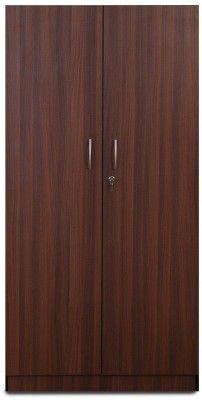 Groveland Embla Engineered Wood 2 Door Wardrobe Finish Color