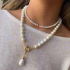 Stylish Jewelry, Cute Jewelry, Pearl Jewelry, Bridal Jewelry, Jewelry Art, Beaded Jewelry, Jewelery, Jewelry Necklaces, Fashion Jewelry
