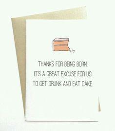 Minus the drunk part...