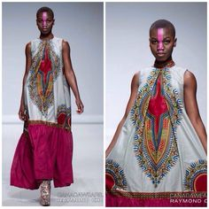 African fashion - African inspired