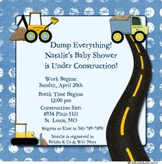 Builder shower invite