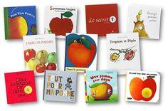 Ma sélection de 11 albums et d'un documentaire sur le thème des pommes : Trognon et Pépin, Un petit trou dans une pomme... album pomme maternelle Grande Section, Petite Section, Kindergarten Fun, Cycle 1, Kids, Crafts, Images, Gym, French
