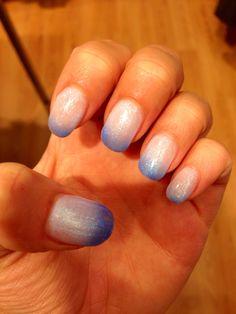 Mes ongles en gel thermo actif :) sympa le changement de couleur :)  #nails #nailsarts #ongles