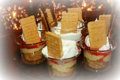 These were easy to make... Cheese Cake Shots!