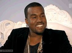 Various Stages of 'Writing a Blog Post' featuring Kanye West .gifs on www.helloterrilowe.com