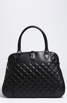 MARC JACOBS 'Quilting Tribeca' Leather Satchel available at #Nordstrom