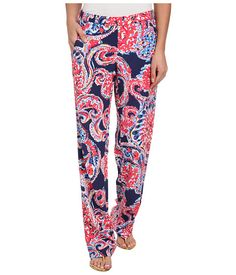 Lilly Pulitzer Cambridge Palazzo Pant Bright Navy For The Halibut - Zappos.com Free Shipping BOTH Ways