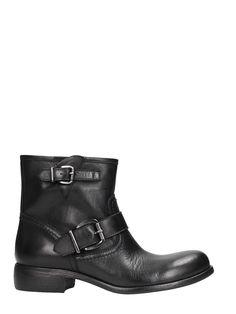 STRATEGIA | Strategia Strategia Black Calf Leather Boots #Shoes #Boots #STRATEGIA