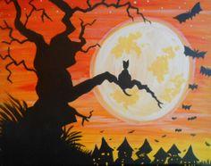 41 Best Spooky Halloween Paintings Images In 2018