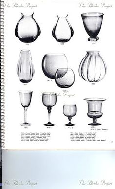 The Blenko Project is dedicated to recording the past, analyzing the present and being an advocate for the growth and preservation of BLENKO GLASS. Blenko Glass, Wine Decanter, Preserves, Projects, Log Projects, Preserve, Blue Prints, Wine Carafe, Preserving Food