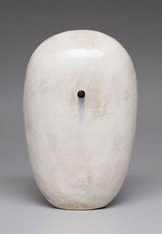 JUN KANEKO Dango 13-06-12, 2013 Glazed ceramic 19 × 12 × 7 1/2 in 48.3 × 30.5 × 19.1 cm