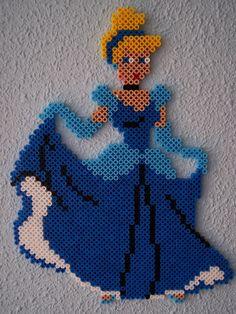 Cinderella hama beads by Juan José Prieto