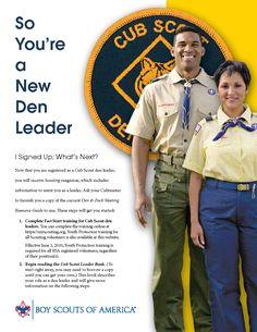 So You're a New Den Leader [PDF]
