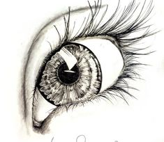 Eye Drawings pencil, charcoal drawing of an eye. artist steph z. Charcoal Sketch, Charcoal Art, Charcoal Drawings, Cool Drawings, Drawing Sketches, Drawing Tips, Drawing Ideas, Sketching, Pencil Art