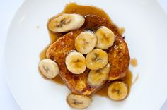 Bananas Foster French Toast recipe - great for Mother's Day or any special morning!