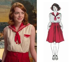 Emma Stone's Magic in the Moonlight wardrobe. I wanted to wear every single outfit her character had
