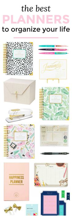 The Best 2018 Planners Pinterest Planners, Organizations and College