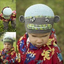 Handmade dětské oblečení - Handmade children clothing #handmade #children #clothing #hat #modrykonik