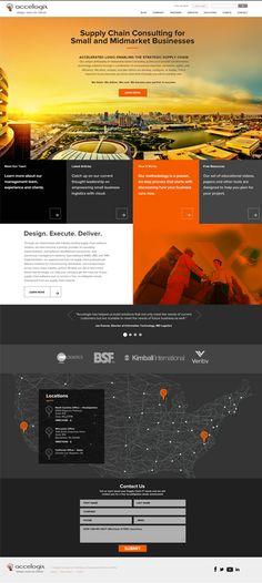 High-end business website design