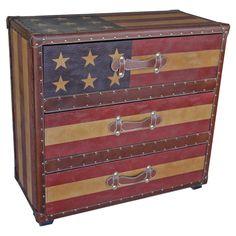 Americana 3-Drawer Chest