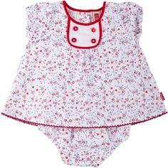 Vestido popelina, para menina - tuc tuc