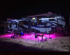 A sampling of what some customers are doing with their Boogey Lights on their RVs.
